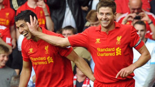 Suarez na Gerrard