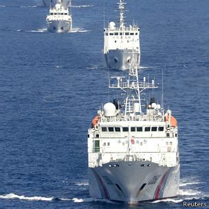中国海警察船