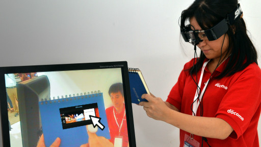 شركة يابانية تكشف نظارة يمكنها