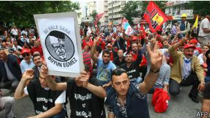 Protestas en Turquía, en mayo 2013