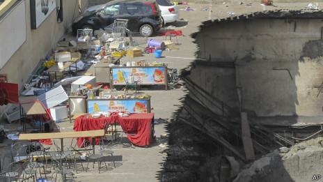 Торговый центр Westgate после нападения