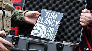 Libro de Tom Clancy