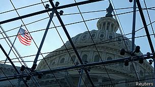capitolio del Congreso en Washington DC