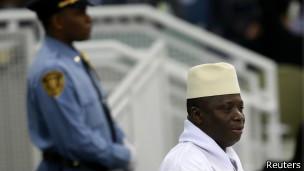 冈比亚总统叶海亚·贾梅