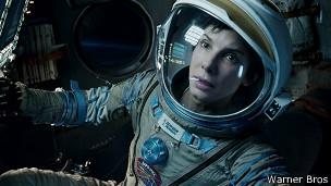 """Imagen de la película """"Gravity"""""""