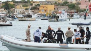 Kazi za uokozi zaanza tena Lampedusa