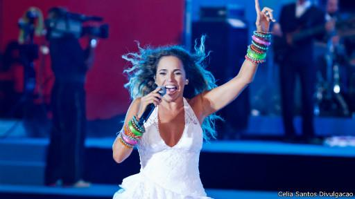 Daniela Mercury (Foto: Celia Santos)