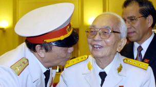Đại tướng Võ Nguyên Giáp năm 2004
