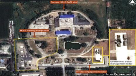 位于西安附近三原县的地对空导弹训练场(29/08/2013)