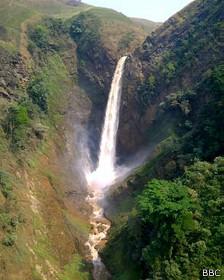 Cascada en RD Congo
