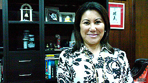 Delegada Elisabete Sato, diretora do DHPP