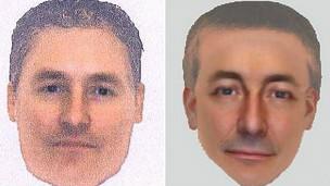 Retrato falado de suspeito. Foto: Scotland Yard