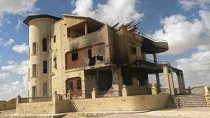 Edificio destruido.