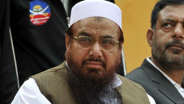 पाकिस्तानी संगठन जमात उद दावा के प्रमुख हाफ़िज़ सईद