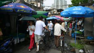 上海一个市场