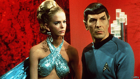 "Leonard Nimoy en ""Star Trek"""