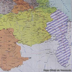 Mapa Oficial de Venezuela