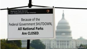 Cierre de gobierno de EE.UU.