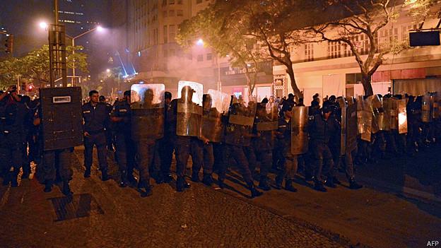 protestas, rio de janeiro