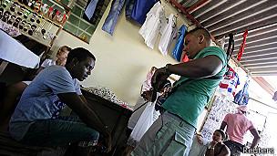 Tienda privada en La Habana