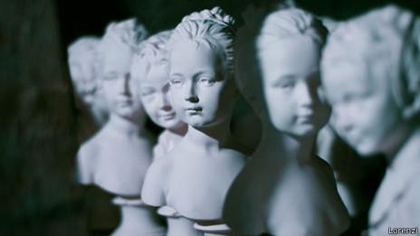 Bustos na oficina Lorenzi | Foto: Lorenzi