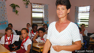 Maestra cubana (Foto: Raquel Pérez)