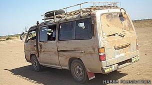 Camioneta del doctor Hab