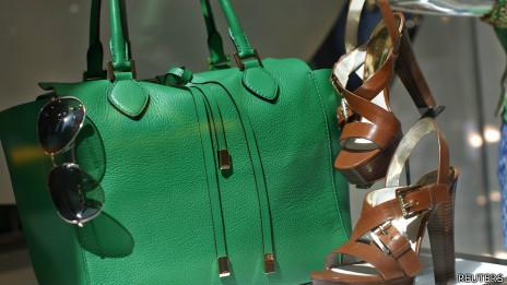 Bolsa de luxo (Foto: Reuters)