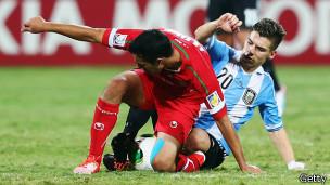 بازی ایران و آرژانتین - عکس گتی از وبسایت فیفا