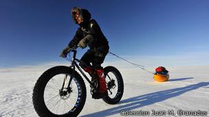 Juan Menéndez Granados en Groenlandia