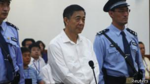 薄熙来受审2013年8月22日