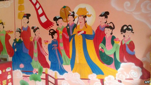 china mural taoist