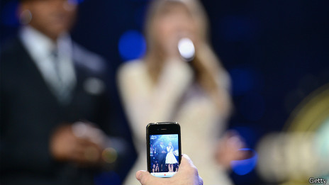 Espectáculo por celular