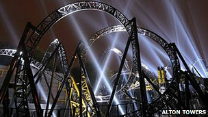 The Smiler, Acton Towers.