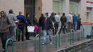 Desempleados en Madrid