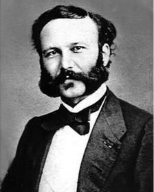 основатель Красного Креста Анри Дюнан (1860 г.)