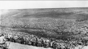 Советские военнопленные под Харьковом в 1942 году