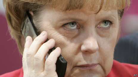 Angela Merkel, chanceler alemã. Foto: AP