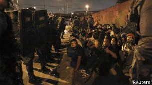 Protesto em São Paulo (Reuters)