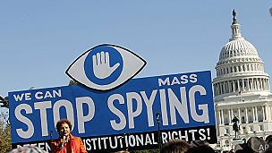 Protestas antiespionaje