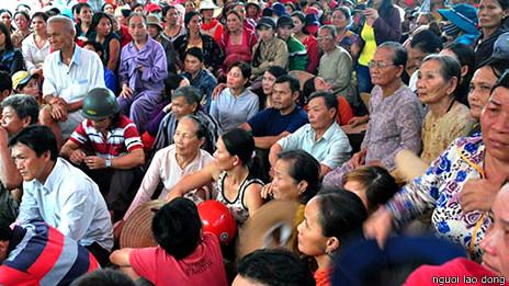 Biểu tình, phản đối ở Quảng Ngãi