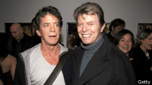 Lou Reed e David Bowie | Foto: Getty