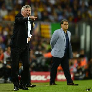 Ancelotti y Martino