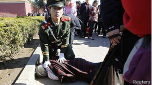 Protesta en Tiananmen