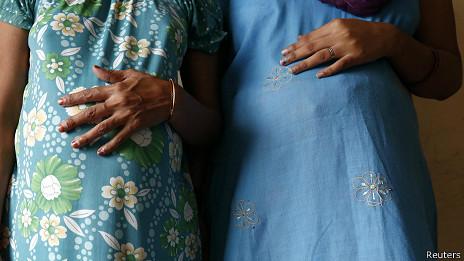 Madres sustitutas en India
