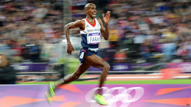 Mo Farah, doble campeón olímpico