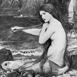Sirena de John William Waterhouse