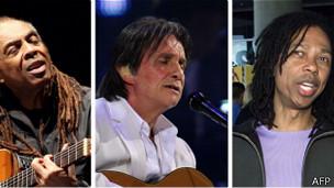 Gilberto Gil, Roberto Carlos y Djavan