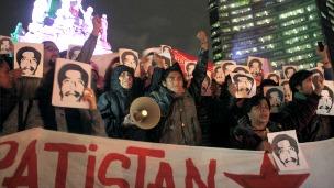 Protestas en México por la liberación de Alberto Patishtán