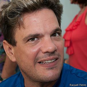Luis, uno de los pacientes (Foto: Raquel Perez)